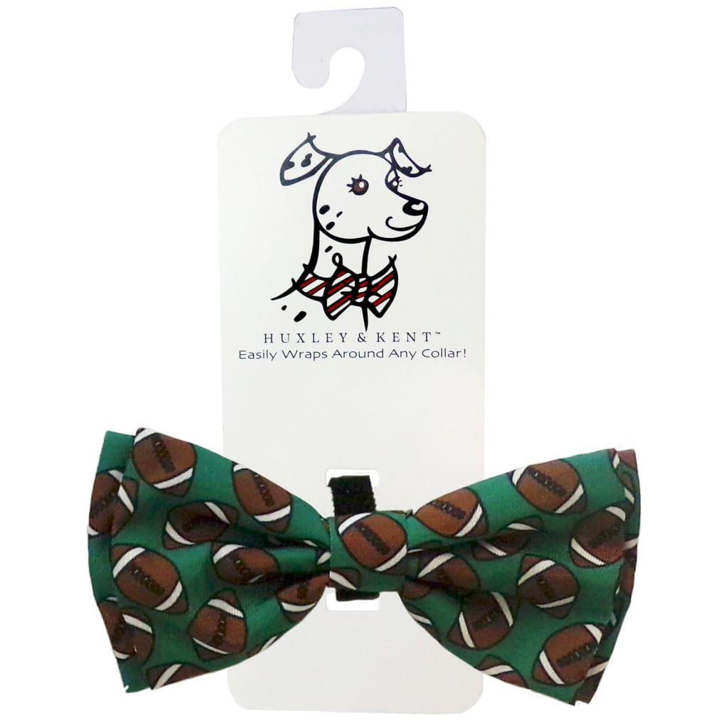Huxley & Kent Football Bow Tie - Cleaner Tails