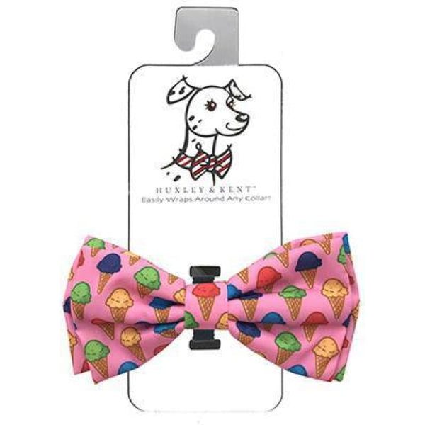 Huxley & Kent Single Scoop Ice Cream Bow Tie - Cleaner Tails