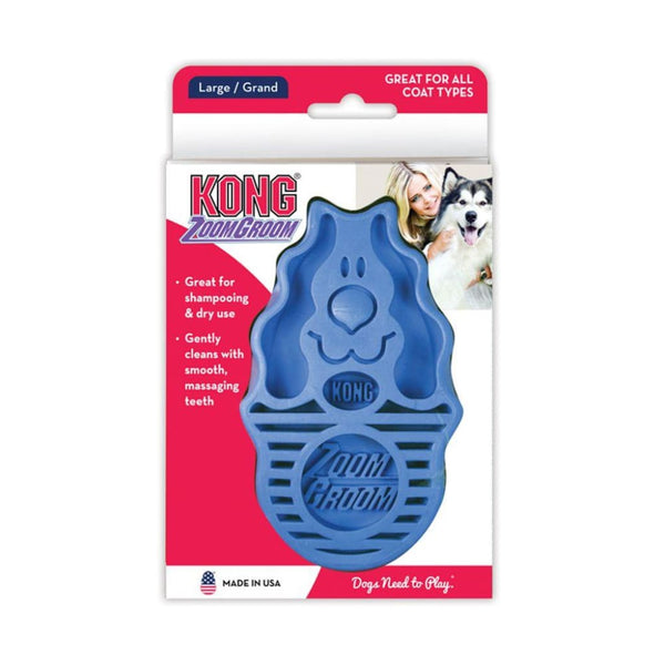 Kong ZoomGroom Multi-Use Brush - Cleaner Tails