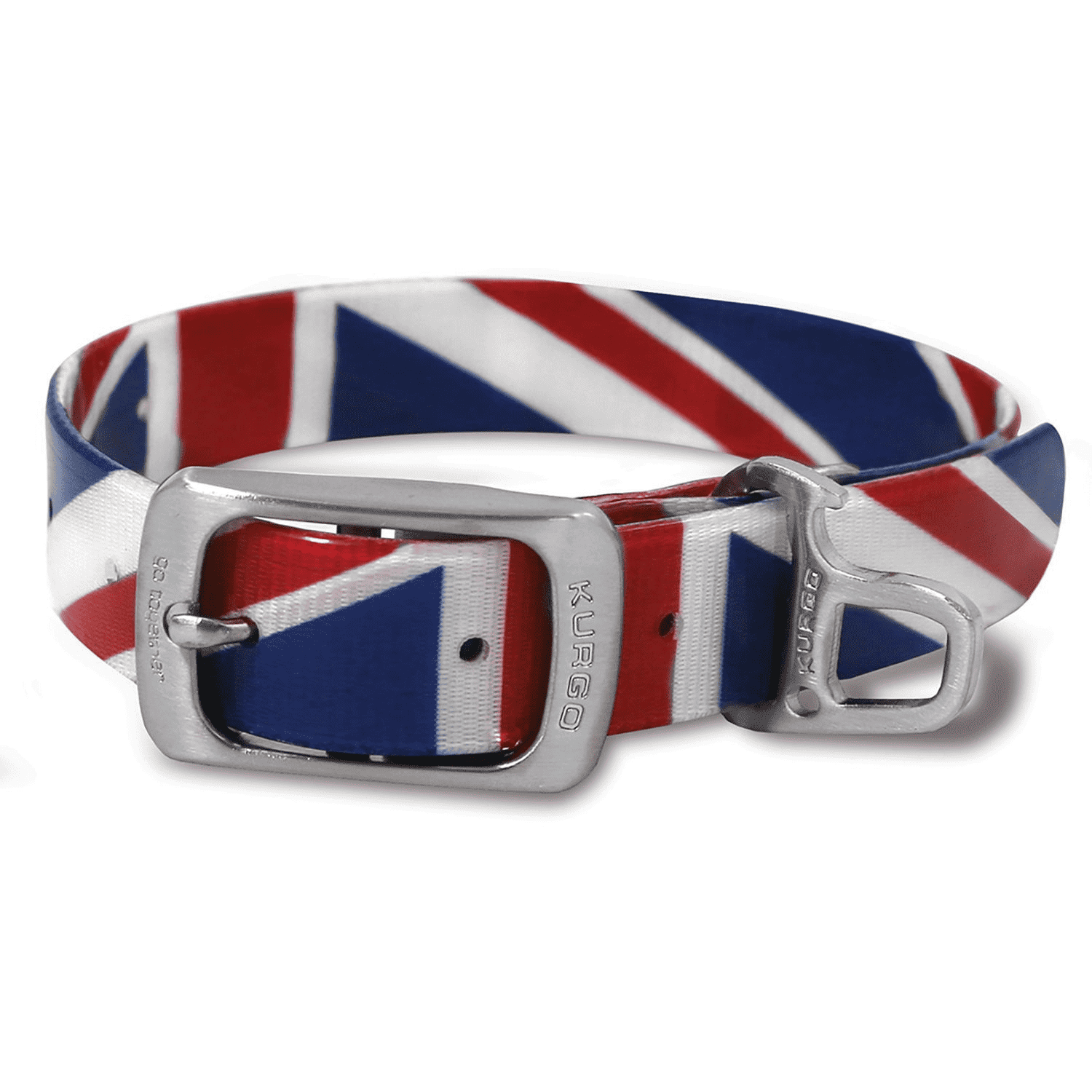 Kurgo Waterproof Muck Dog Collar, Union Jack