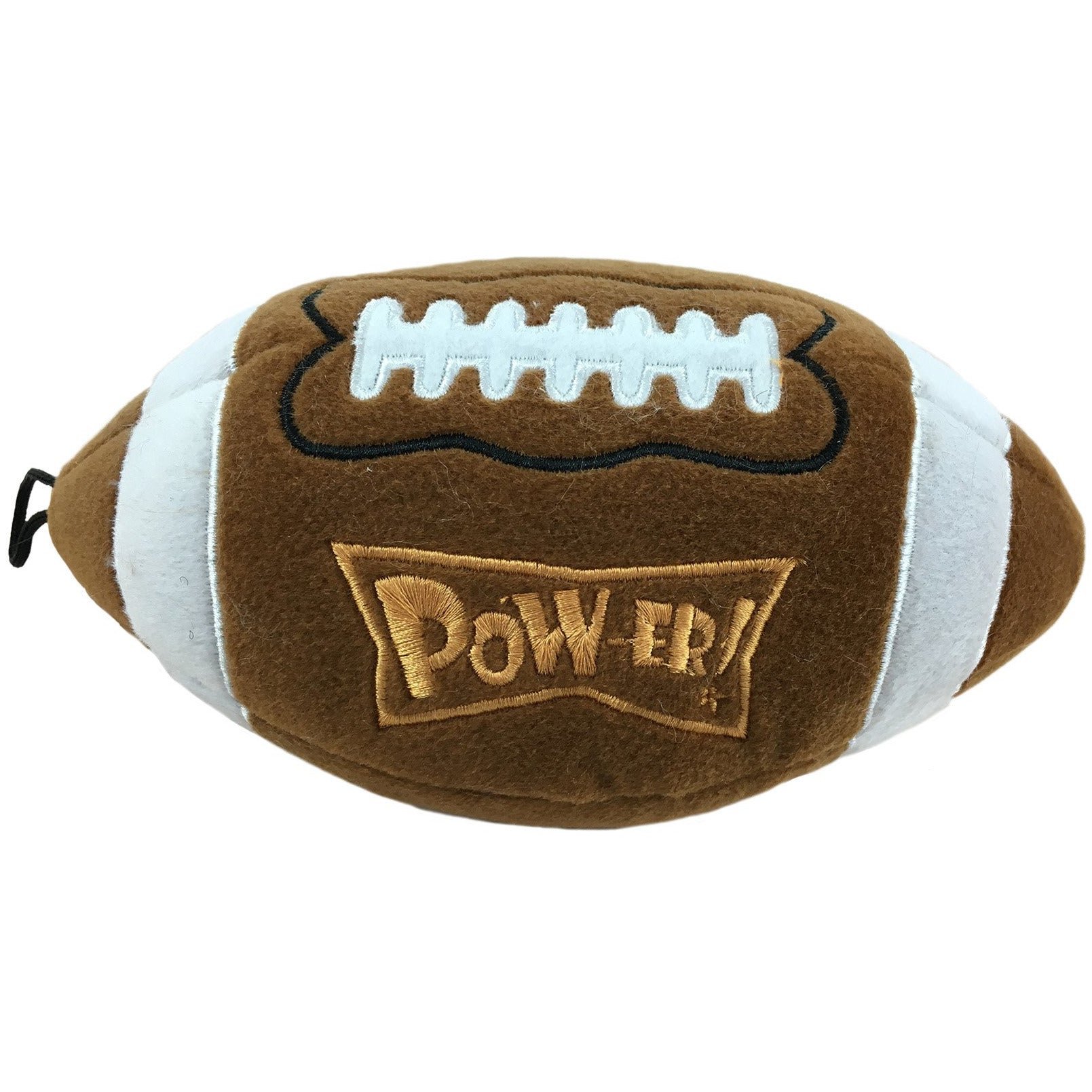 Lulubelles Power Plush Pigskin Dog Toy