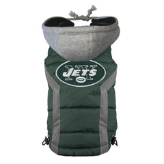 New York Jets NFL Puffer Vest - Cleaner Tails