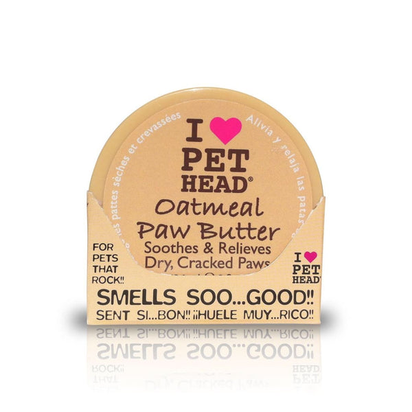 Pet Head Oatmeal Paw Butter, 2 oz. - Cleaner Tails