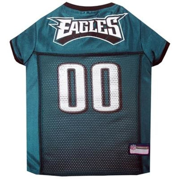 Pets First Philadelphia Eagles NFL Mesh Jersey For Dogs - Cleaner Tails