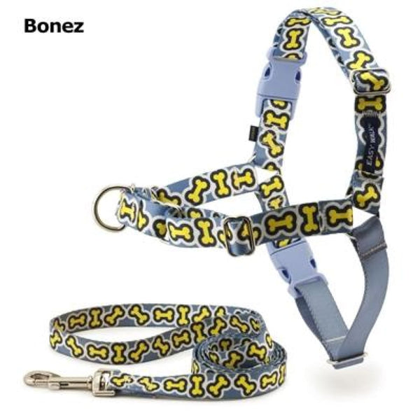 PetSafe Easy Walk Chic Bonez Dog Harness & Leash - Cleaner Tails