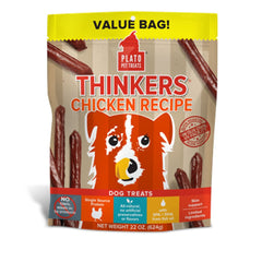 Plato Thinkers Chicken Recipe Dog Treats - Cleaner Tails