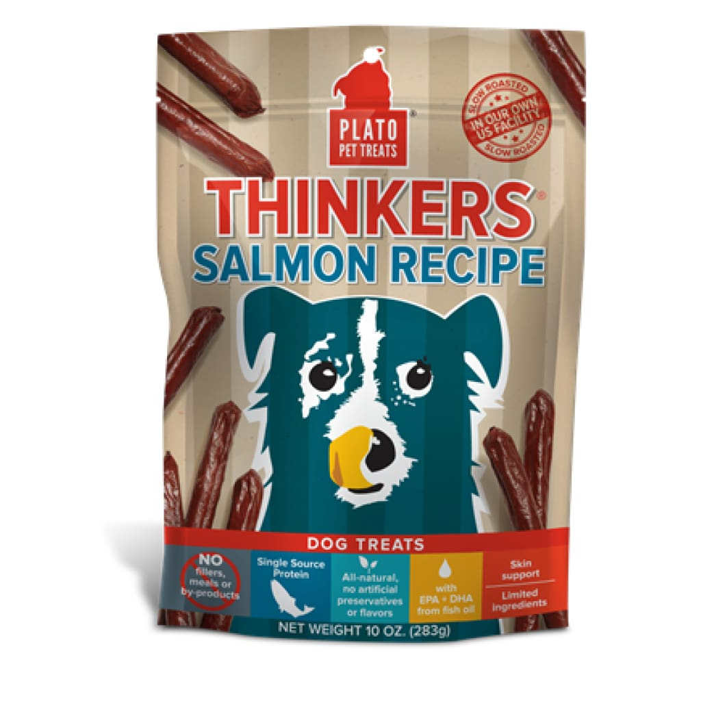 Plato Thinkers Salmon Recipe Dog Treats - Cleaner Tails