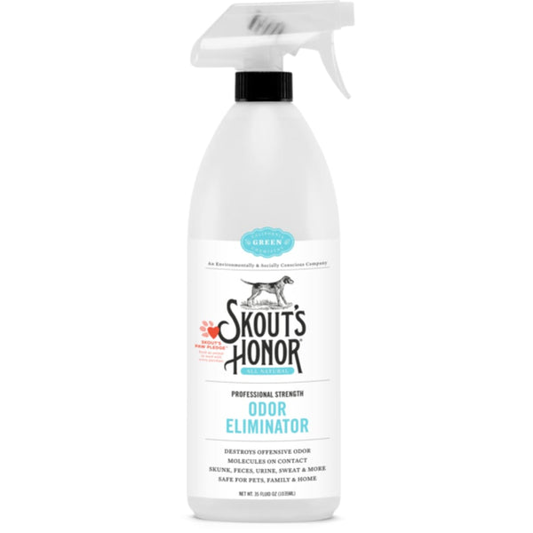 Skout's Honor Professional Strength Odor Eliminator, 35 oz. - Cleaner Tails