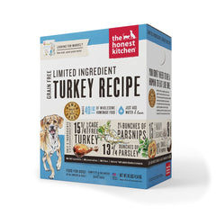 The Honest Kitchen Limited Ingredient Diet Turkey Recipe Grain-Free Dehydrated Dog Food - Cleaner Tails