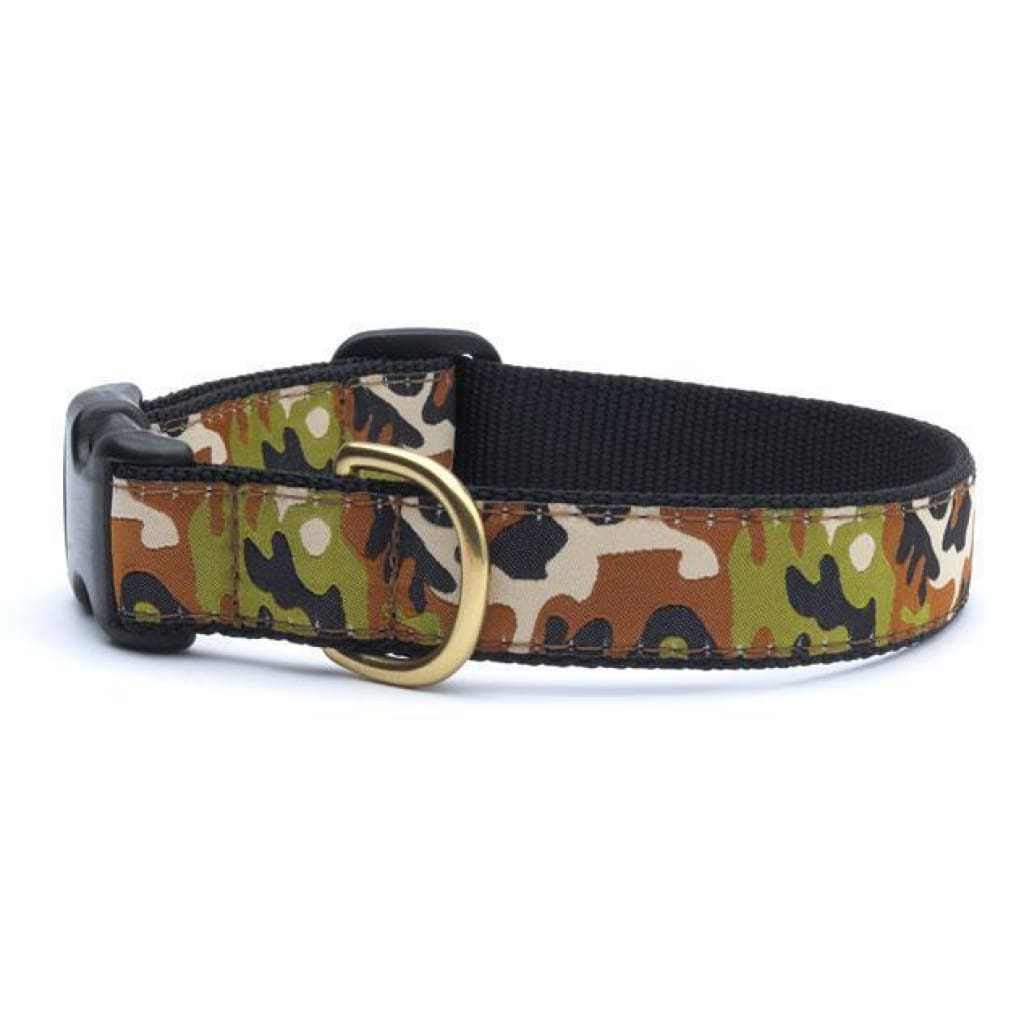 Up Country Camo Dog Collar - Cleaner Tails