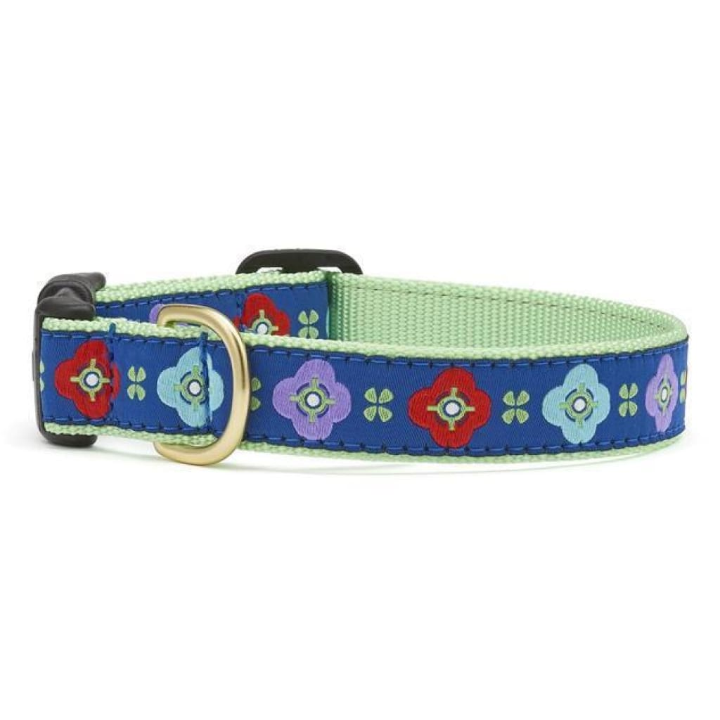 Up Country Celtic Rose Dog Collar - Cleaner Tails
