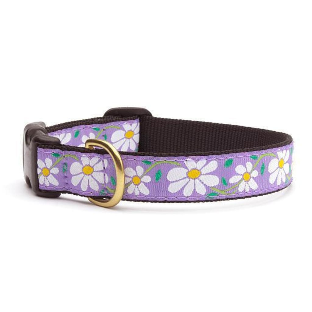 Up Country Daisy Dog Collar - Cleaner Tails
