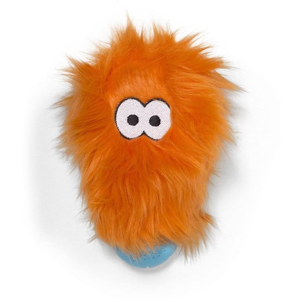 West Paw Rowdies Rosebud Dog Toy - Orange - Dog Toy