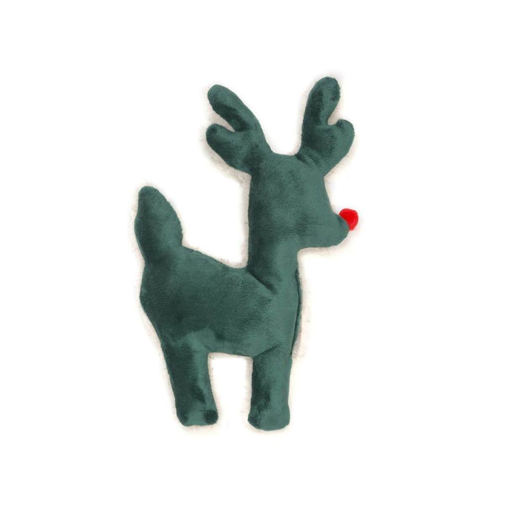 West Paw Ruff-N-Tuff Reindeer Plush Dog Toy - Dog Toy