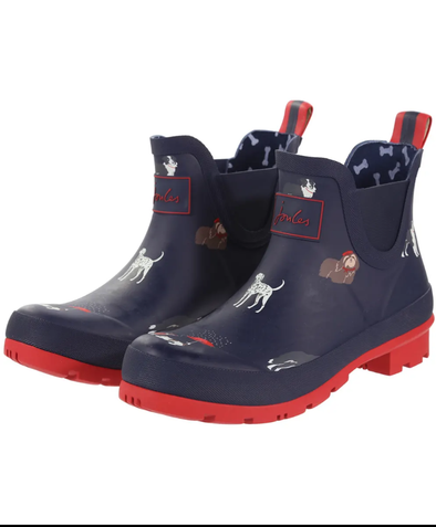 Wellibob Short - Navy Dogs