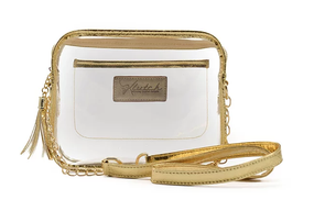 'K'lear Box with Tassel Stadium Klutch  - Gold
