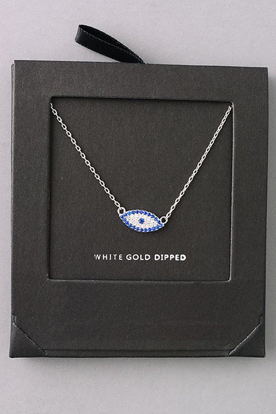 Jewel Evil Eye Necklace