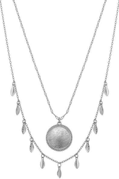 One Day Soon Necklace - Silver