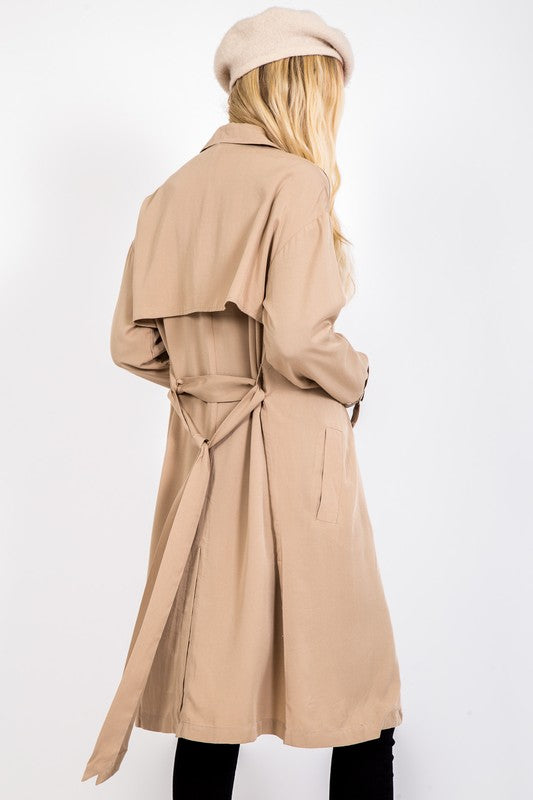 Tencel French Coat
