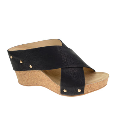 Abloom Wedge - Black