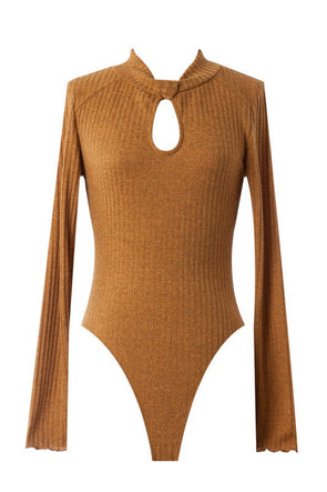 The Mock Neck Bodysuit