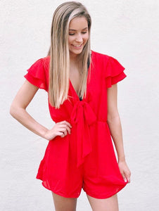 The Dual Ruffle Romper