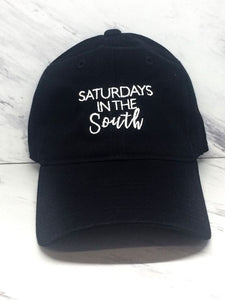 Saturday's in the South Baseball Cap in Black