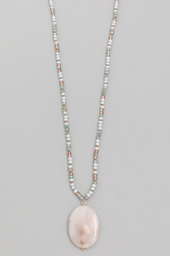 Beaded One Necklace