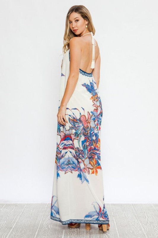 Going to Paradise Maxi Dress