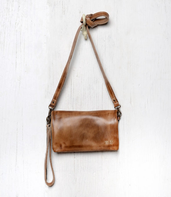 Cadence Wallet/Crossbody - Tan Rustic