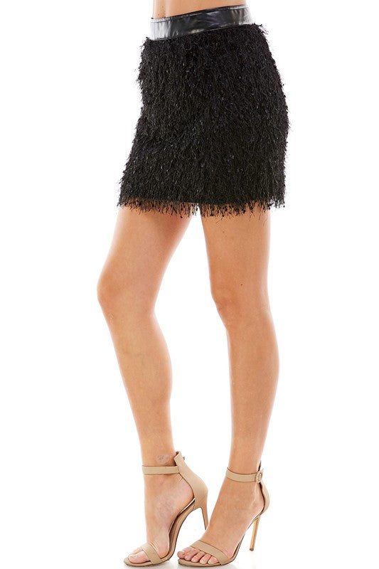 Crazy For You Mini Skirt