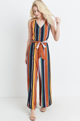 Fall Awaits Jumpsuit