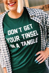 Tinsel in a Tangle Tee