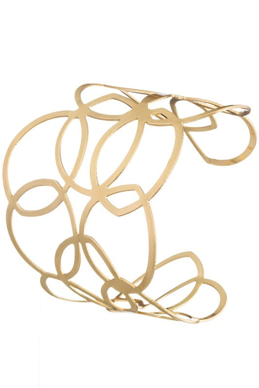 Running In Circles Bracelets - Gold