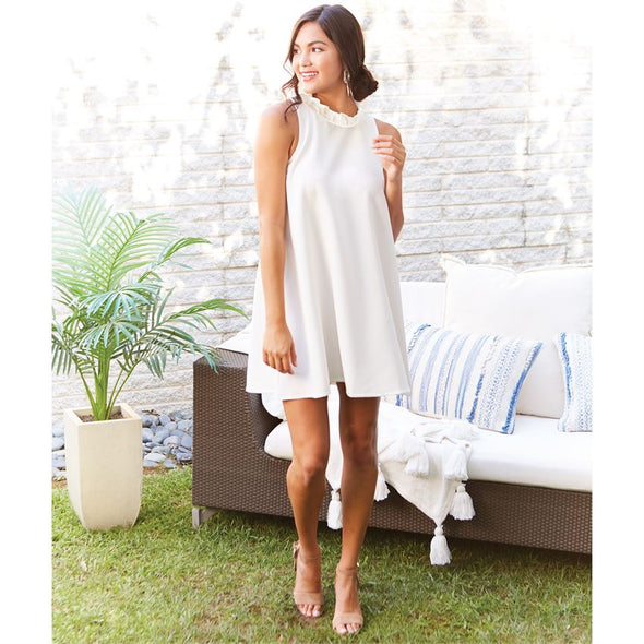 Juliette Dress White