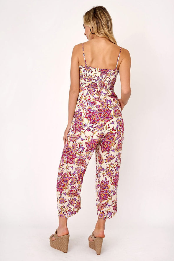 Pretty Paisley Jumpsuit