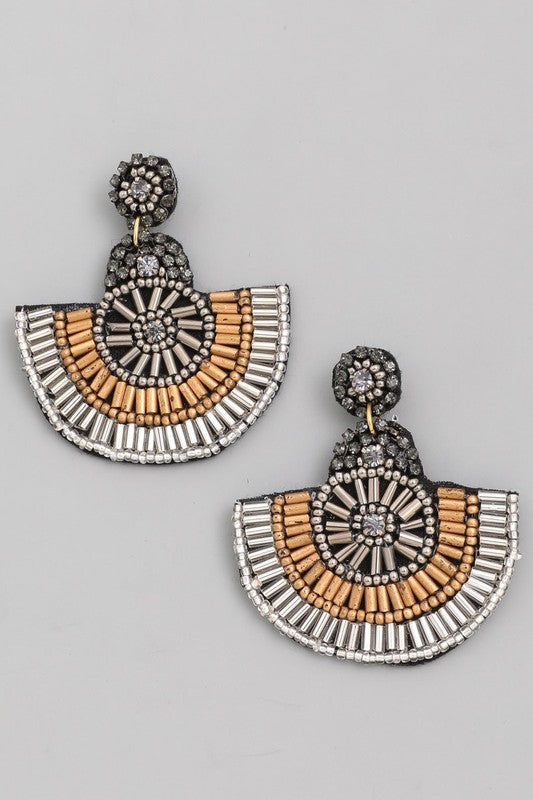 Greek Goddess Earring