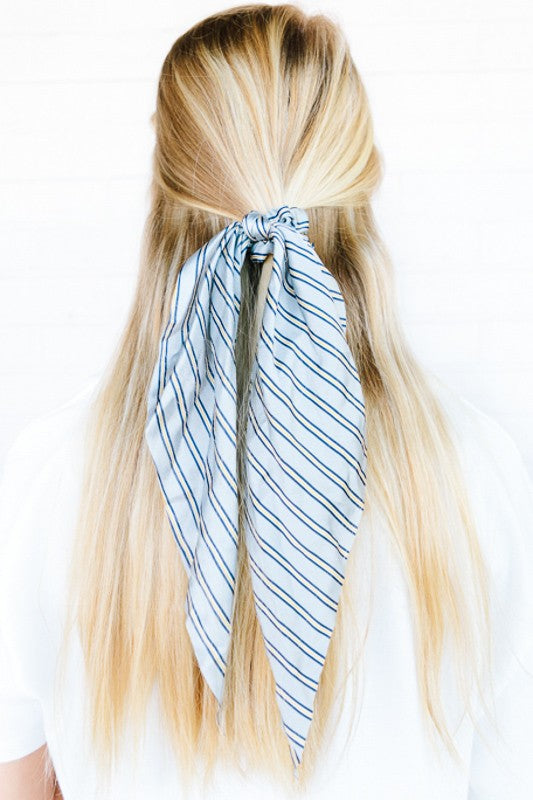 Here For It Striped Hairscarf