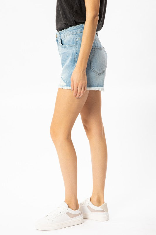 Come Back Home Denim Shorts