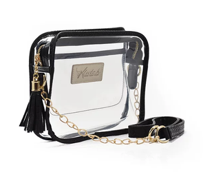 'K'lear Box with Tassel Stadium Klutch - Black