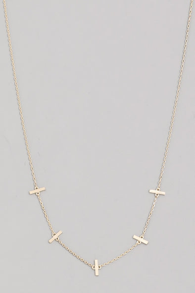 Dainty Mini Bar Necklace