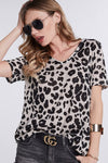 You Are Not Alone Leopard Top