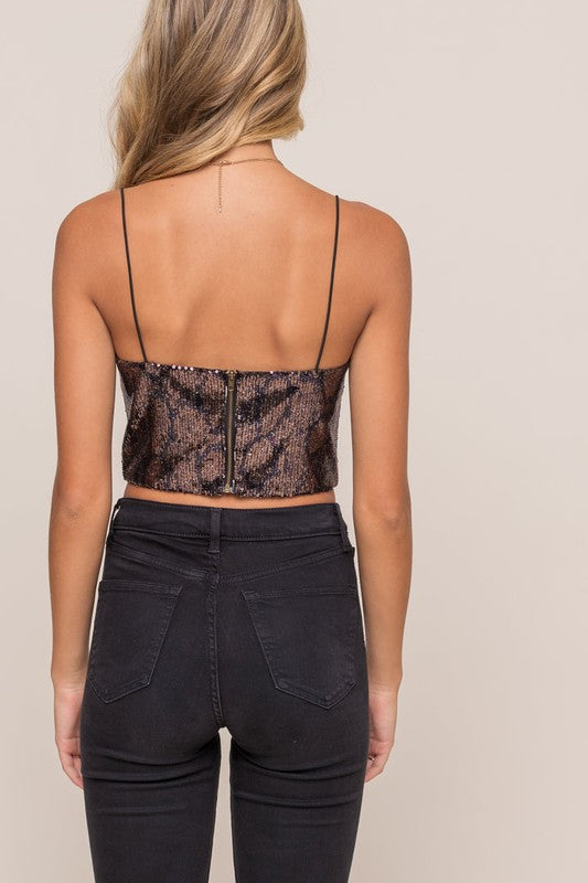 Forever & A Night Sequin Top
