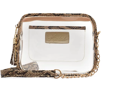 'K'lear Box with Tassel Stadium Klutch - Python