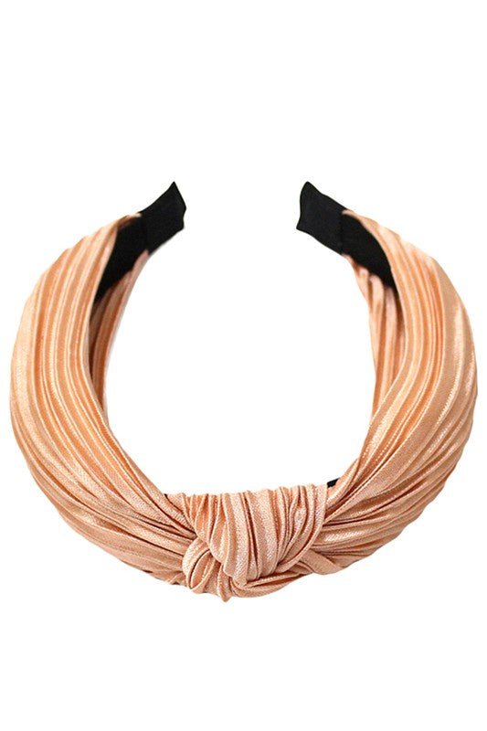 Up Your Style Pleated Headband - Multiple Colors