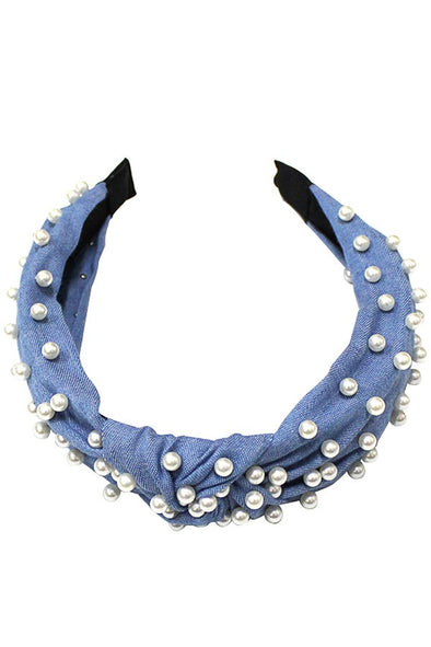 Totally Knot Pearl Headband