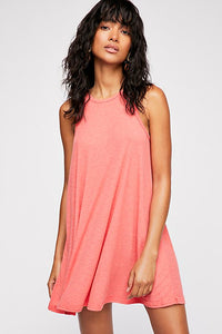 LA Nite Mini Dress - Coral