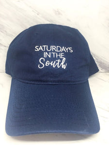 Saturday's in the South Baseball Cap in Navy