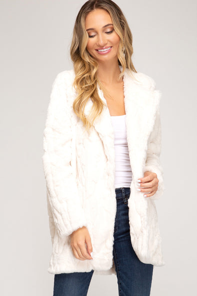 Cozy Nights Faux Fur Jacket