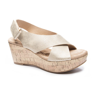 Dream Girl Wedge - Gold